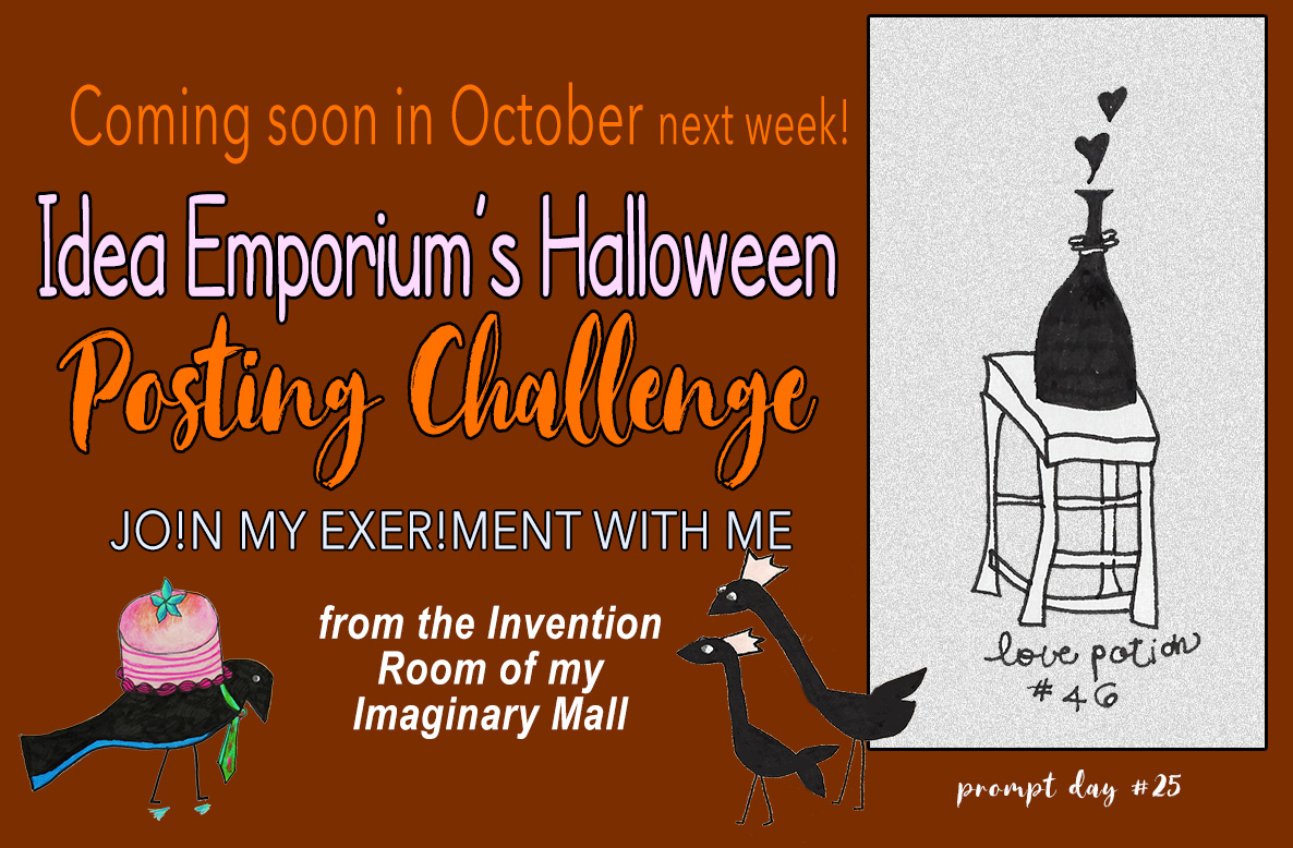 it's this month! halloween prompts idea emporium challenge | the