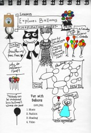 Balloon Inspiration Sheet